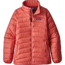 Patagonia Down Sweater Girls Barn spiced coral